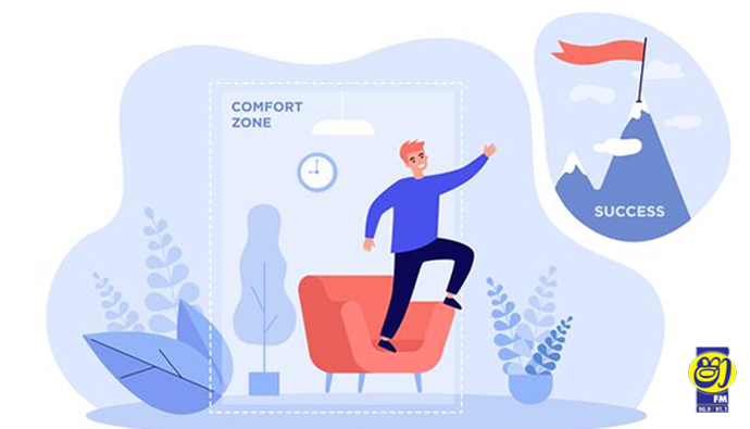 comfort zone එකෙන් එලියට එන්නේ මෙන්න මෙහෙමයි.